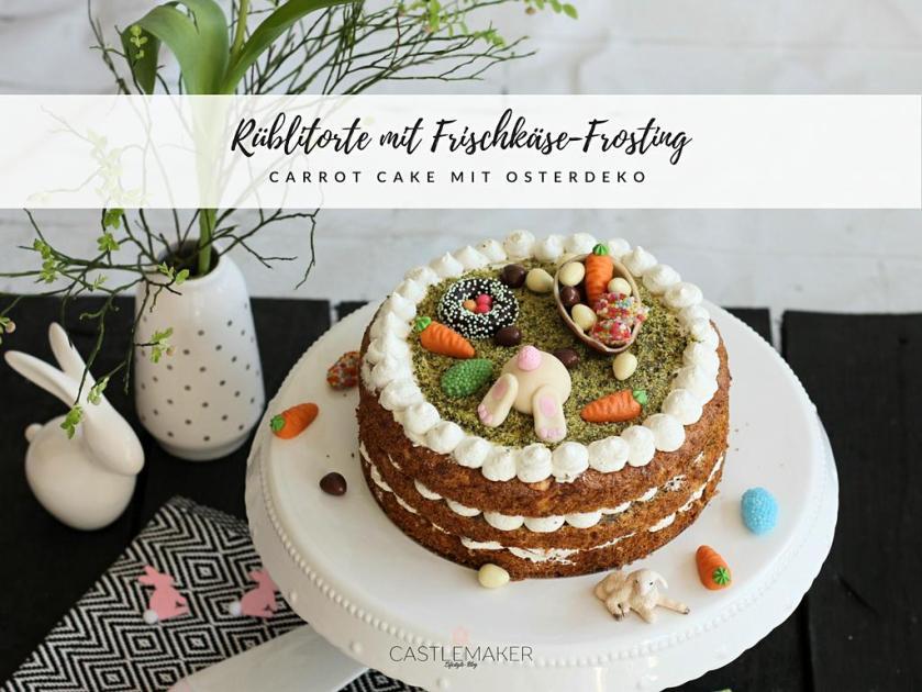 Carrot-Cake-Rueblitorte-mit-Frischkaese-Frosting-und-suesser-Osterdekoration-karottenkuchen-moehrenkuchen-ostertorte-rezept-Castlemaker-Lifestyle-Blog-7